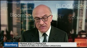 Bloomberg ECB QE Working More Than Expected Papadia