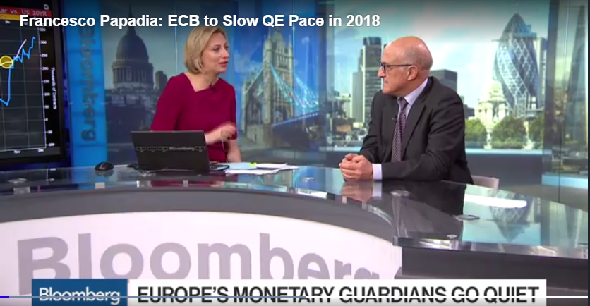Bloomberg - ECB QE to slow down